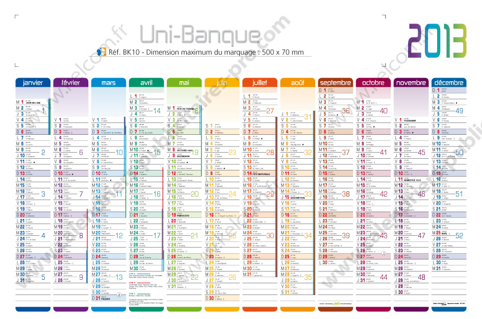 Image gallery calendrier 2013 - Grand calendrier mural ...