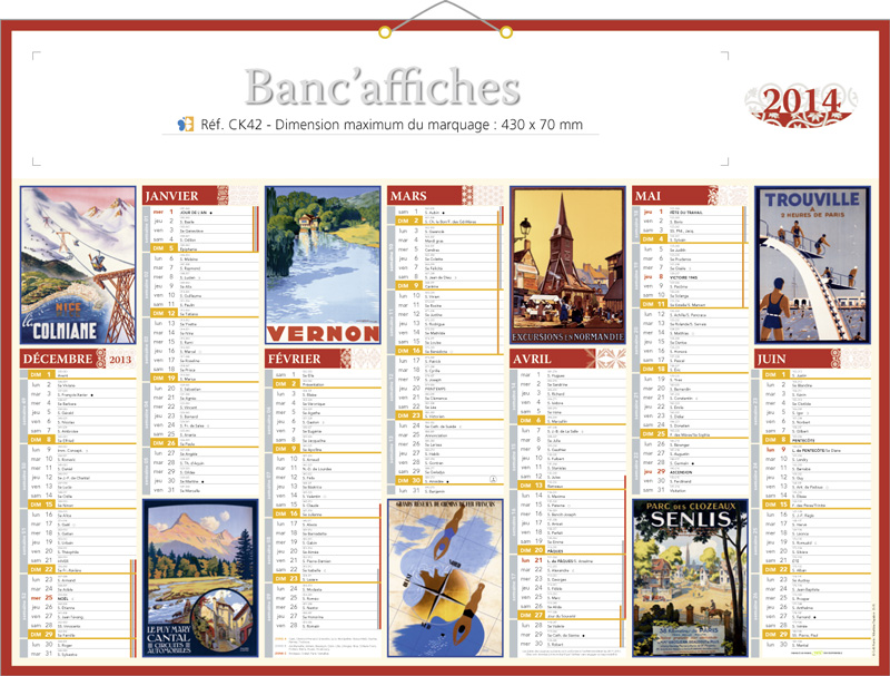 calendrier publicitaire personnalis affiches pub. Black Bedroom Furniture Sets. Home Design Ideas