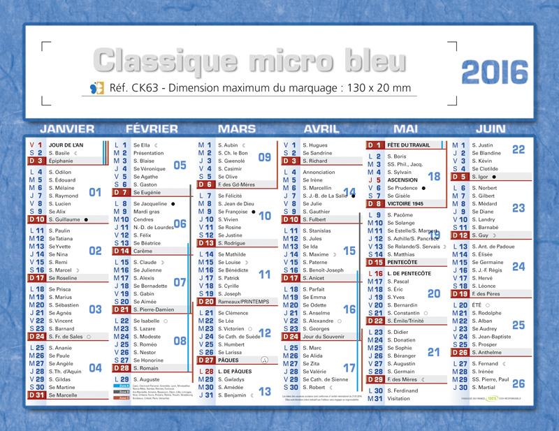 Calendrier Avec Semaine Paire Et Impaire.Calendrier Publicitaire 2014