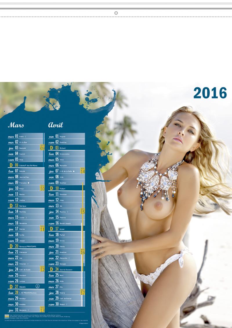 calendrier publicitaire calendriers publicitaires illustres a feuillets charme femme nue