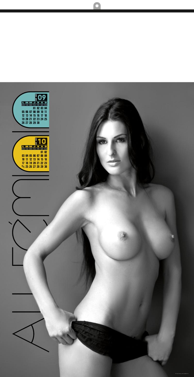 Calendrier des femmes nues