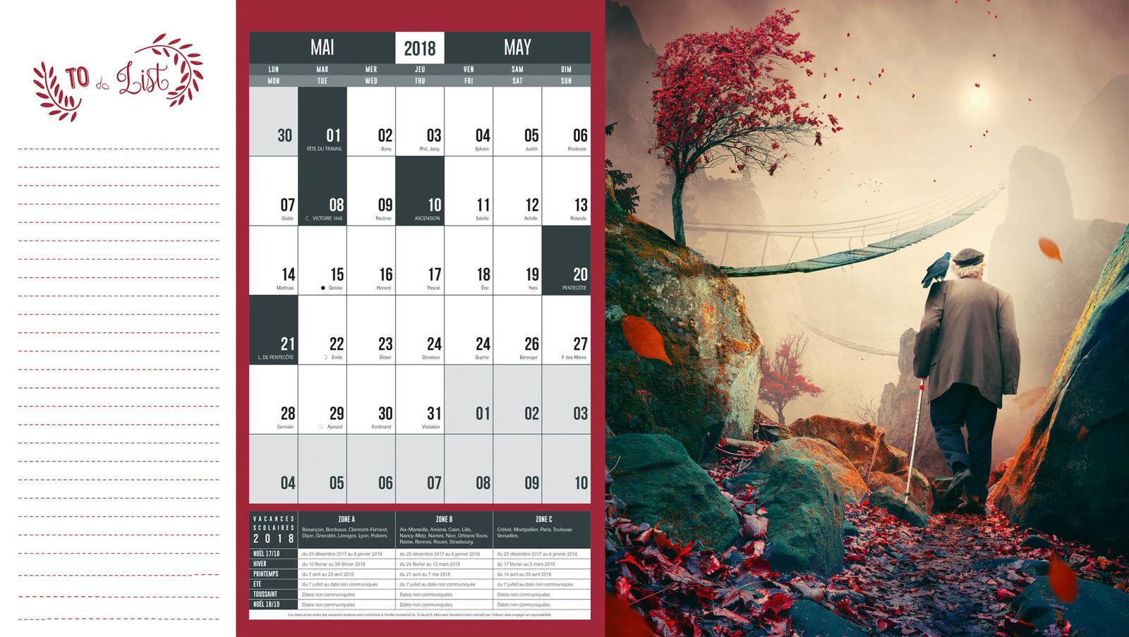 calendrier original publicitaire