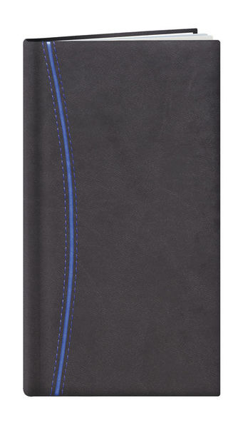 Agenda Personnalisable Semainier | Paris | 93x168 mm : Agenda Personnalisable Semainier - Paris  93x168 mm Gris Bleu