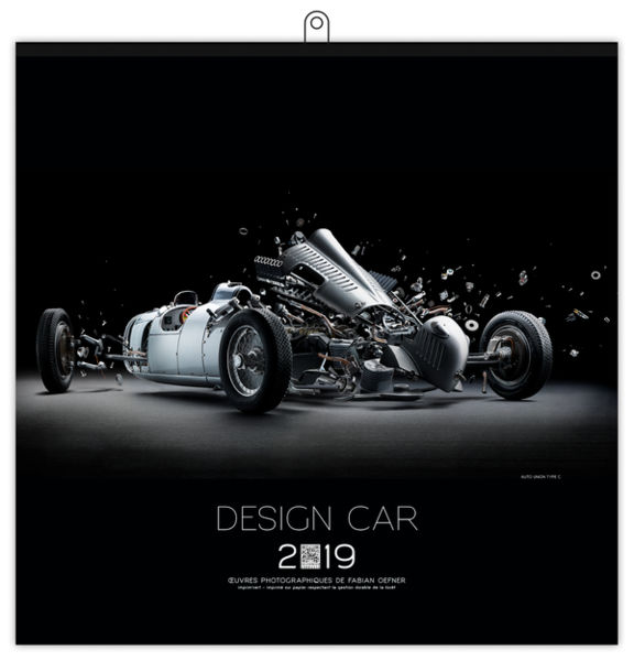 Calendrier Illustré : Design car small - 210 x 310 cm