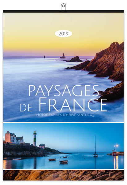 Calendrier Illustré : Paysages de france xxl - 300 x 420 cm