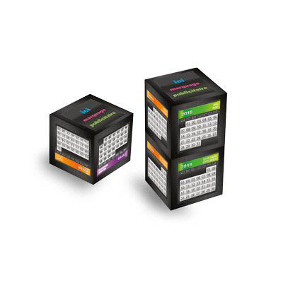 calendriers cube publicitaire, Cube Magnetic