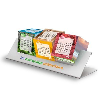 calendriers cubes personnalisable, Suspension