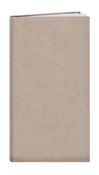 Agenda Personnalisable Semainier | Londres | 93x168 mm : Agenda Personnalisable Semainier - Londres  93x168 mm Taupe