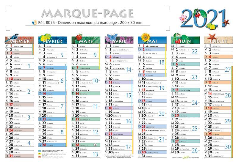 Calendrier 2021 Petit Format calendrier petit format