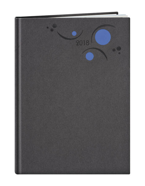 Agenda Personnalisable Semainier | Prague | 200x270 mm : Agenda Personnalisable Semainier - Prague  200x270 mm Gris Bleu