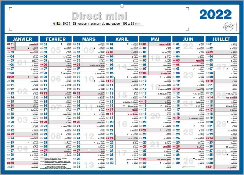 Petit Calendrier 2022 petit calendrier