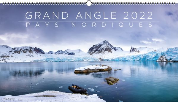 Calendrier publicitaire grand angle, Panorama