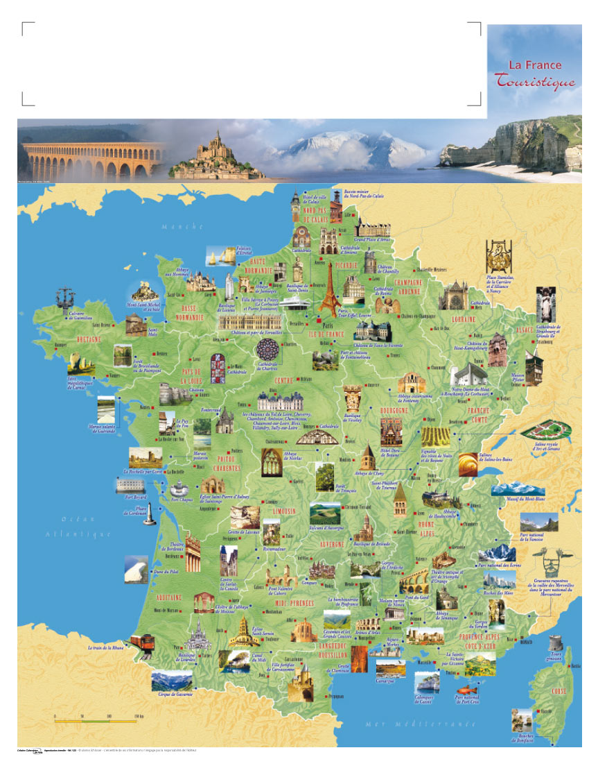 Tourisme en france voyages cartes for Carte touristique