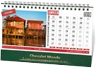 calendrier personnalisable chevalet