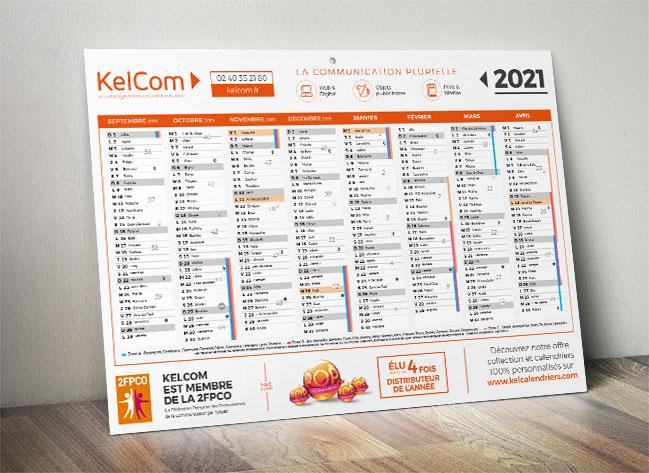 Calendrier Publicitaire 2021 Spécialiste du calendrier   Calendriers publicitaires
